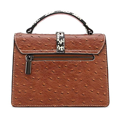 Single Leather Tide Bao Fang Glqym Fang Shoulder Organ Sloping Fashion Female Chao Bag Gu Xiao Parcel Color Fu zqzURvw6p