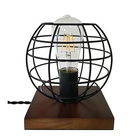 Lámpara de Mesa Americana Dormitorio Decorativo lámpara de ...