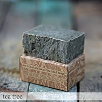 Natural Handmade Dead Sea Mud Soap bar For Valentines Day Gift For Women And For Men (tea tree)