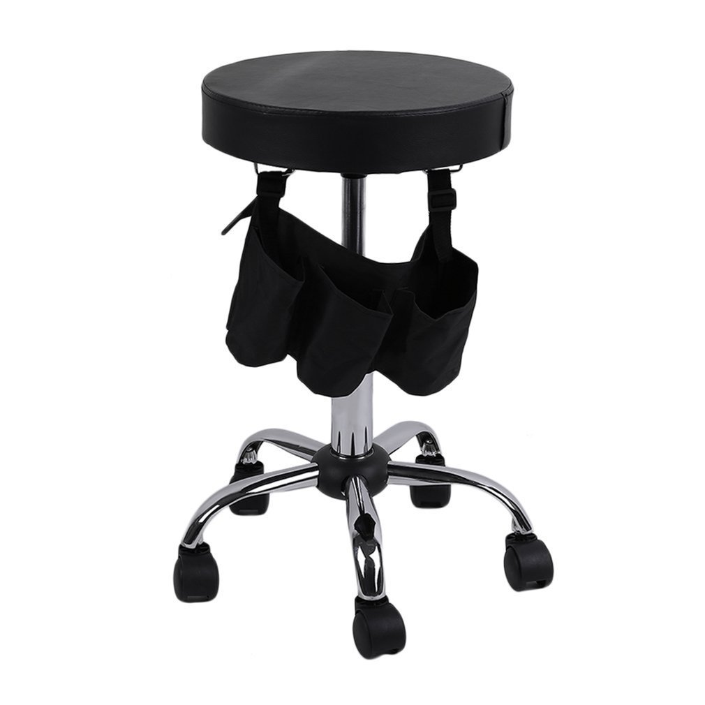 Beauty Salon Rolling Stool Tattoo Massage Facial Spa Adjustable Stool Chair