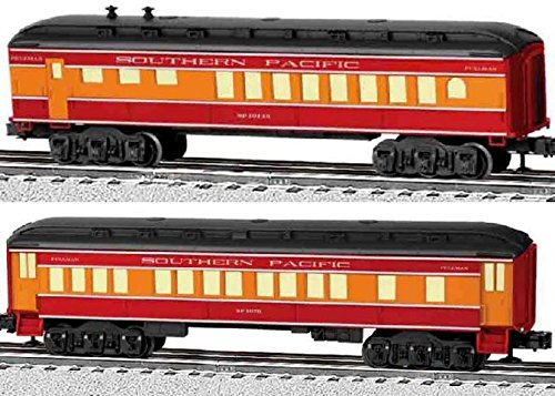 Lionel Southern Pacific Coach/Diner Baby Madison Passenger Car (2 Pack)