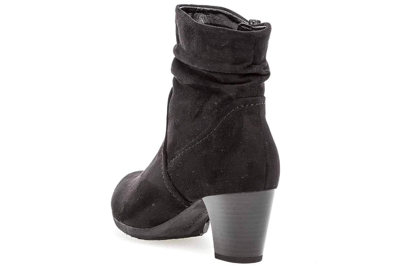 Gabor Casual Stiefeletten in in Stiefeletten Übergrößen Grau 94.683.49 große Damenschuhe Schwarz 40646c