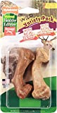 Nylabone 2 Count Healthy Edibles Small Wild Variety Venison & Bison Dog Treat Bones