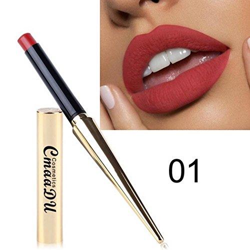 Vividy Makeup Sexy Nonstick Cup Long Lasting Waterproof Matte Lipstick Lipstick