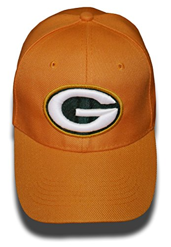 Green Bay Packers Yellow Glow In The Dark Adjustable Hat