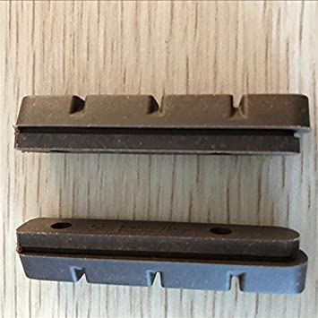 AURORA RACING 4 Pair of Carbon Brake Pads Carbon Wheels Cushions Material Cork Suitable for Shimano and SRAM SH426RP Carbon Rims Use