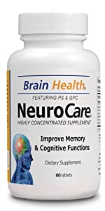 Neuro Care - Brain Health 60 Tablets - Highly Concentrate Supplent - Dietary Supplement