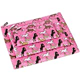 Horses in Pink 3-pc Organizer