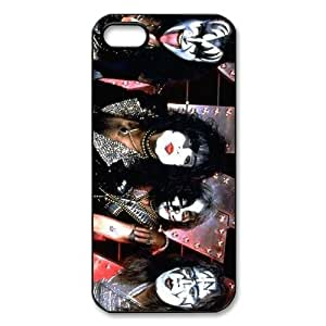 KISS Rock Band Poster Photo iPhone 5 Case Plastic New Back Case by runtopwell