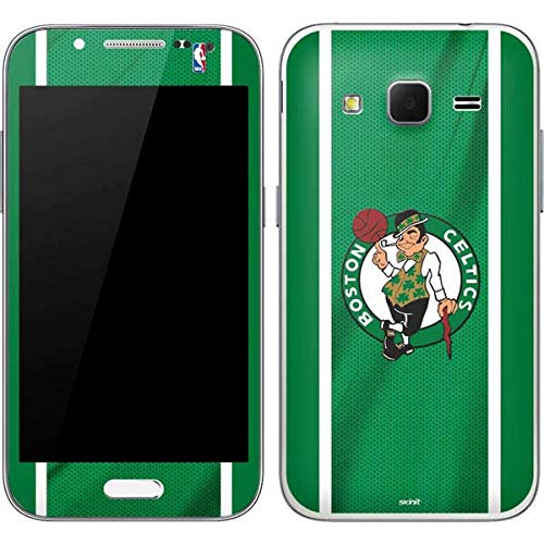 Skinit Boston Celtics Galaxy Core Prime Skin - Officially Licensed NBA Phone Decal - Ultra Thin, Lightweight Vinyl Decal -