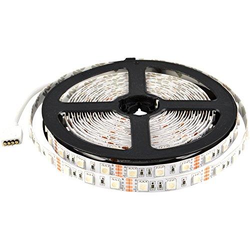 - ABI 300 LED Color Changing RGB Strip Light, Indoor, High Brightness SMD 5050, 5M/16FT