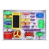 Arshiner 1000 Electronics Discovery Kit, Solar Electronics Block Kit, Educational Science Kit Toy, Best DIY Toy