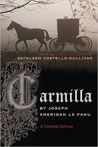 Carmilla Le Fanu Pdf
