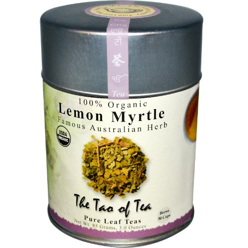 Australian Tea - The Tao of Tea 100 Organic Lemon Myrtle Famous Australian Herb Caffeine Free 3 oz 85 g