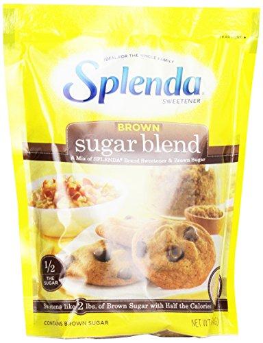 SPLENDA No Calorie Sweetener Brown Sugar Blend for Baking, 1 Pound Bag