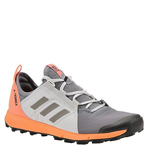 adidas outdoor Women's Terrex Agravic Speed Grey Three/Black/Chalk Coral 8.5 B US