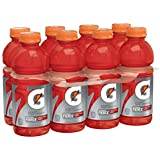 Gatorade Thirst Quencher Fierce, Fruit Punch and Berry, 20 Ounce (8 Count)