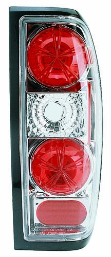 IPCW CWT-1008C2 Crystal Eyes Crystal Clear Tail Lamp - Pair