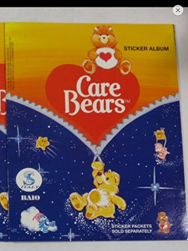 Complete Set with Care Bears Sticker Album Unused 1994 Rare Non-sport Trading Cards from Baio