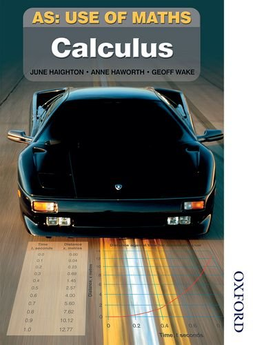 AS Use of Maths - Calculus