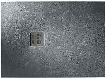 Roca - Plato de ducha extraplano de STONEX® - Serie Terran, Color Blanco: Amazon.es: Bricolaje y herramientas