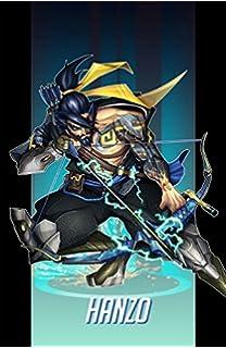 Amazon Com Overwatch Hanzo Poster Character Defense Prints Wall