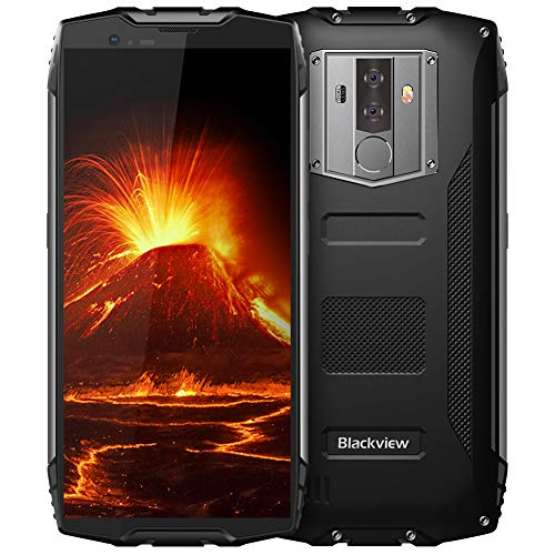 Rugged Cell Phones Unlocked, Blackview BV6800 pro 4G LTE Unlocked Smartphone, IP68 Waterproof 4GB+64GB 6580mAh Android 8.0 Octa Core, 8MP+16MP Dual Rear Camera 5.7