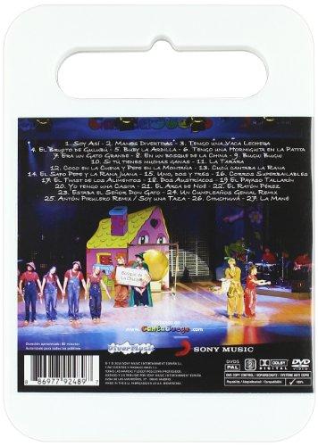 Amazon.com: Cantajuego - Que Lo Baile Todo El Mundo (Non Us Format) (European Format - Zone 2): Movies & TV