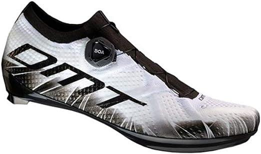 DMT KR1 - Zapatillas de ciclismo de carreras, color blanco y negro ...