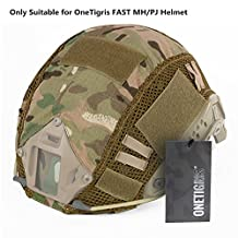 OneTigris Camouflage Cover for OneTigirs FAST MH/PJ Helmet in Size S/M