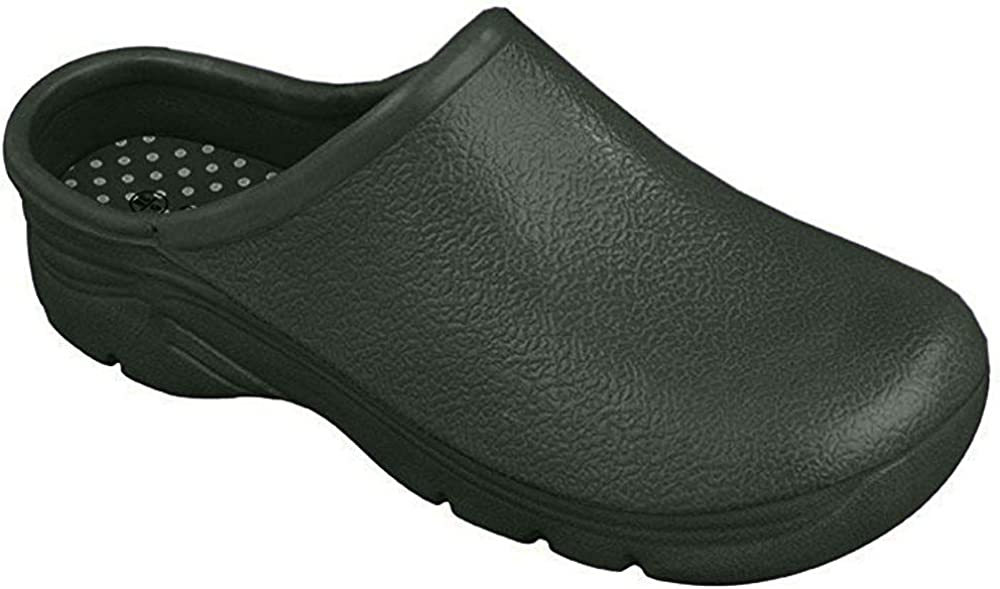 Briers Traditional Green Clogs- Outdoors and Gardening Shoes