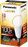 パナソニック LED電球 E26口金 電球100W形相当 電球色相当(14.3W) 一般電球・広配光タイプ 密閉形器具対応 LDA14L-G/K100E/W