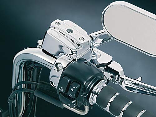 - Kuryakyn 9126 Motorcycle Handlebar Accessory: Complete Chrome Replacement Brake and Clutch Control Dress-Up Kit for 1996-2017 Harley-Davidson Motorcycles, Single Disc