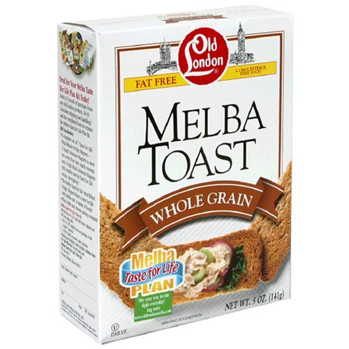 Old London Melba Toast Whole Grain (12x5oz ) by Old London