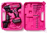 Nordstrand Pink Cordless Drill Set - Electric