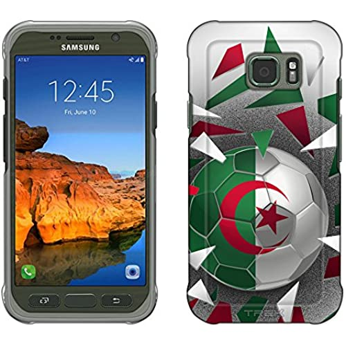Samsung Galaxy S7 Active Case, Snap On Cover by Trek Soccer Ball Algeria Slim Case Sales