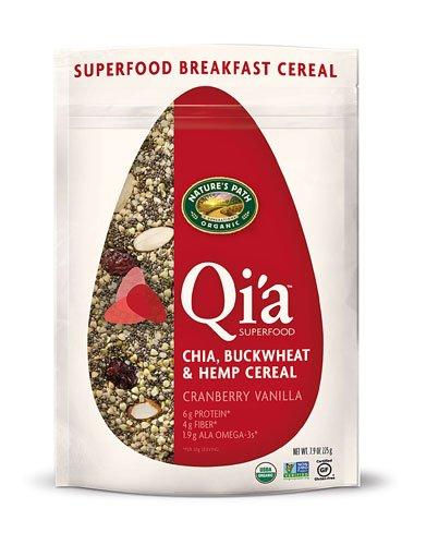 (Nature's Path Organic Qia? Superfood Chia-Buckwheat & Hemp Cereal Cranberry Vanilla -- 7.9 oz - 2 pc)