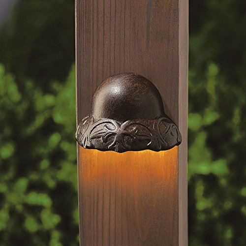 Tannery Bronze Decor - Kichler 15750TZT27R LED Deck Light
