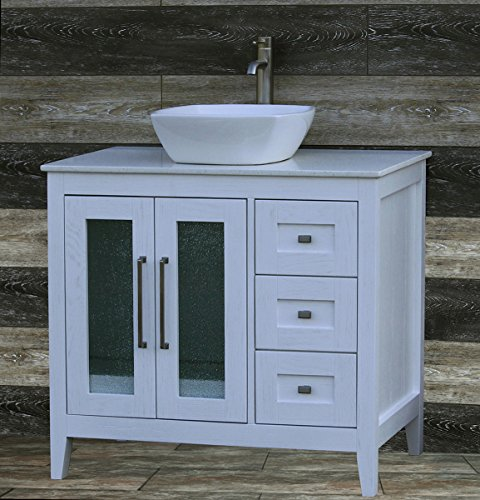 Quartz Vessel Sink : ... Quartz) Top Vessel sink A3621WL. Furniture Cabinets Storage Vanities
