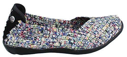 Bernie Mev Women's Braided Catwalk Splash Flats - 7.5 B(M) US
