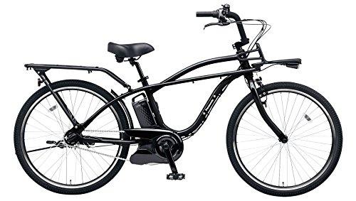Panasonic(パナソニック) 2018年モデル BP02 26インチ BE-ELZC63A 電動アシスト自転車 専用充電器付 B07DVVJ531B:ジェットブラック