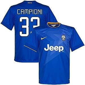 Juventus Away Campioni 33 Jersey 2014 / 2015 (Fan Style Printing) - XL