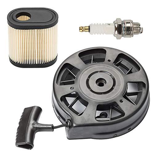- Venseri 590739 590637 590702 Recoil Starter with Air Filter Spark Plug for Tecumseh AV600 LEV80 LEV100 LEV115 LEV120 LEV150 LV195EA Lawn Boy Lawnmower