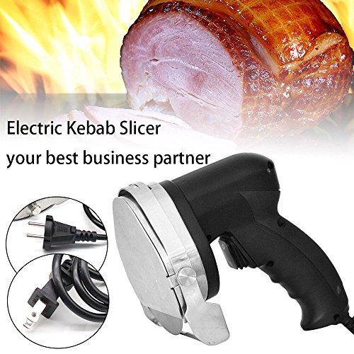 Professional Electric Shawarma Cutter Slicer Knife Gyro Doner Kebab 110V Ship From US by TFCFL (Image #6)