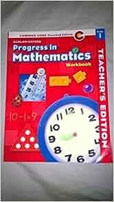 progress in mathematics grade 1 workbook. Black Bedroom Furniture Sets. Home Design Ideas