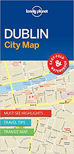 Lonely Planet Dublin City Map Lonely Planet City Maps ...