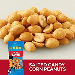 Planters Single Serve Salted Peanuts (1oz Bags, Pack of 144)