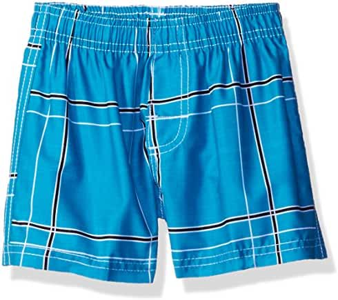 Kanu Surf Baby Boys' Flex Plaid Swim Trunk