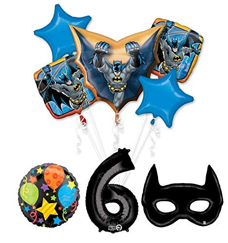 Mayflower Products Batman 6th Birthday Party Supplies and