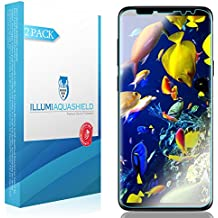Galaxy S9 Plus Screen Protector [2-Pack], ILLUMI AquaShield HD Clear Anti-Bubble Film Screen Protector for Galaxy S9 Plus (Case Friendly Compatible)